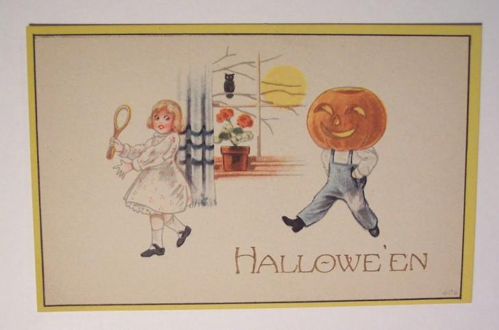 Ilustracion vintage Halloween 114
