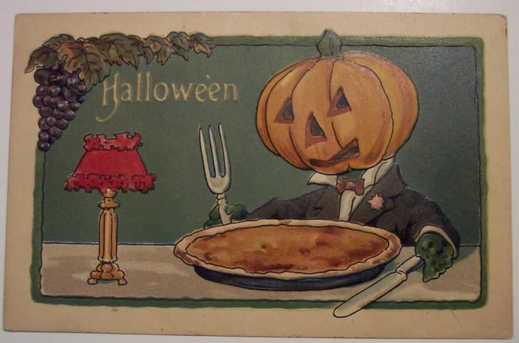Ilustracion vintage Halloween 115