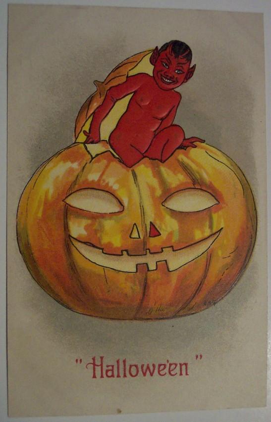 Ilustracion vintage Halloween 116