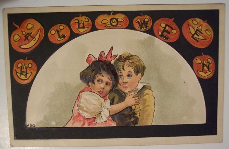 Ilustracion vintage Halloween 117