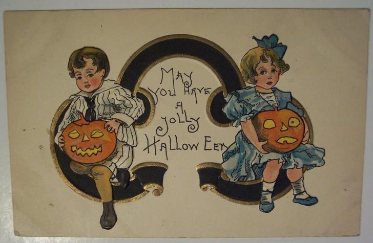 Ilustracion vintage Halloween 118