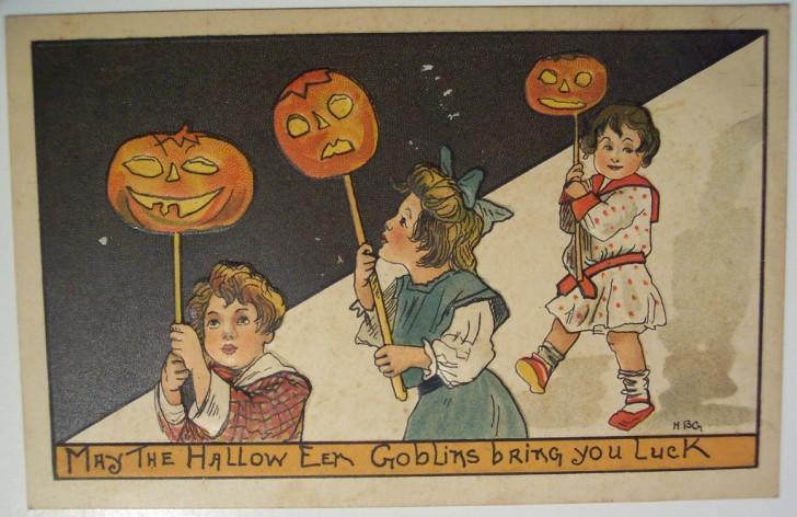 Ilustracion vintage Halloween 119