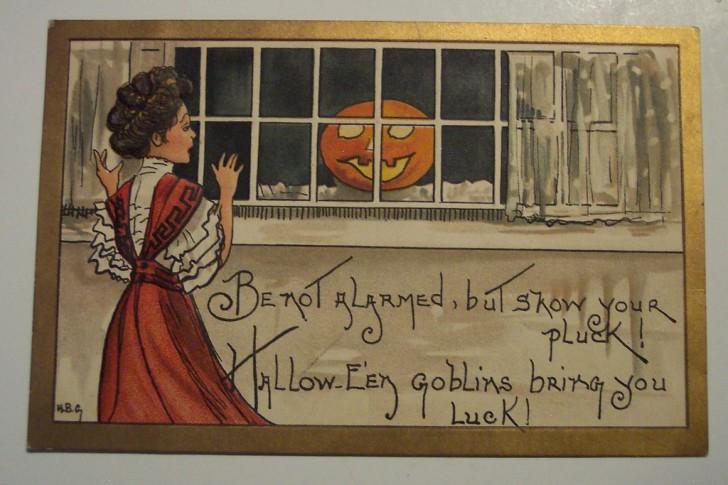 Ilustracion vintage Halloween 120