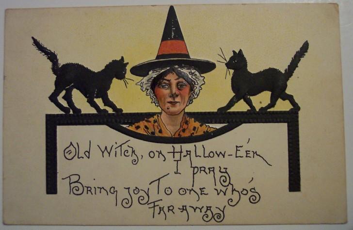 Ilustracion vintage Halloween 121