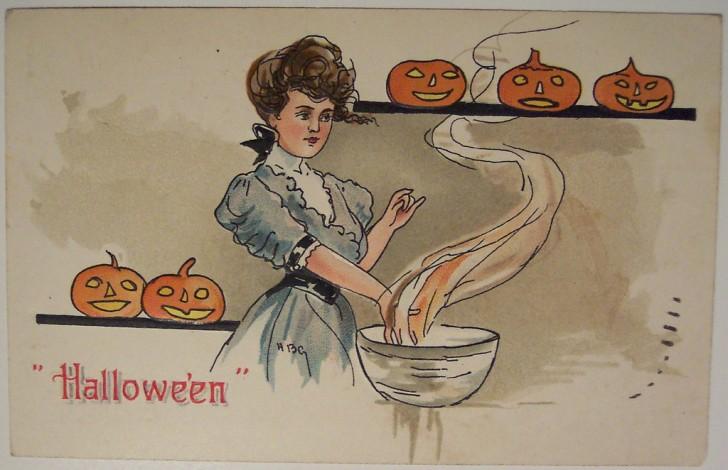 Ilustracion vintage Halloween 124