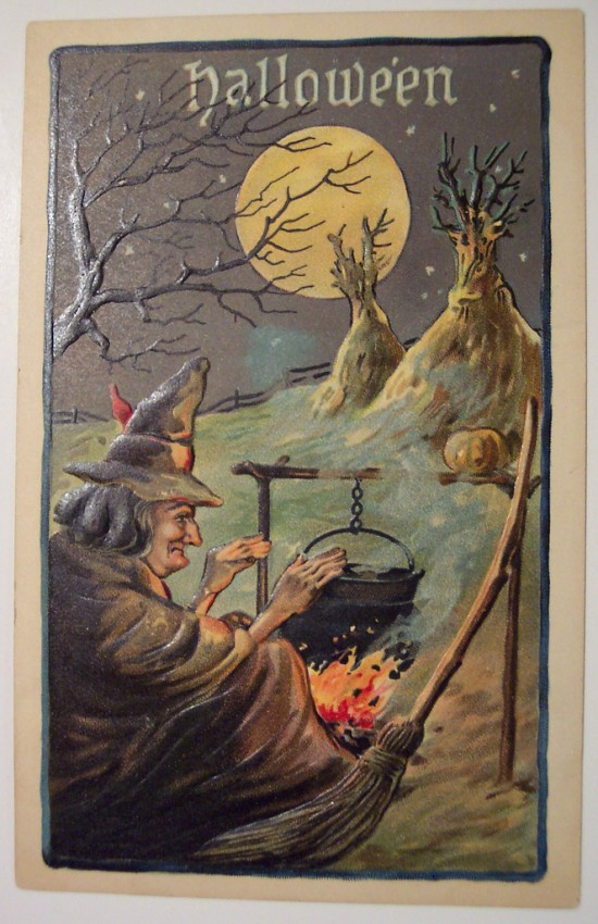 Ilustracion vintage Halloween 127
