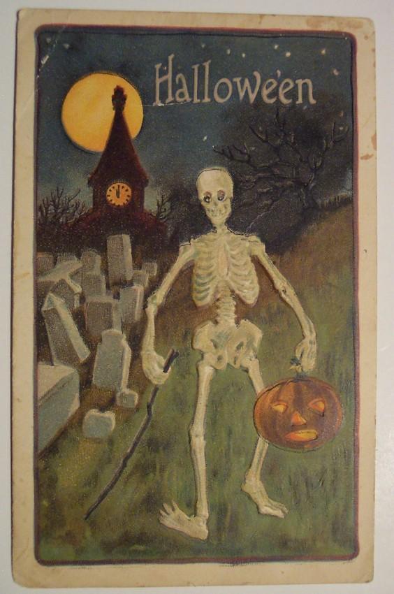 Ilustracion vintage Halloween 128