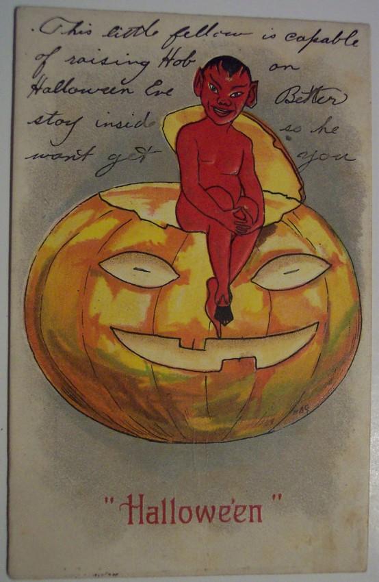 Ilustracion vintage Halloween 129