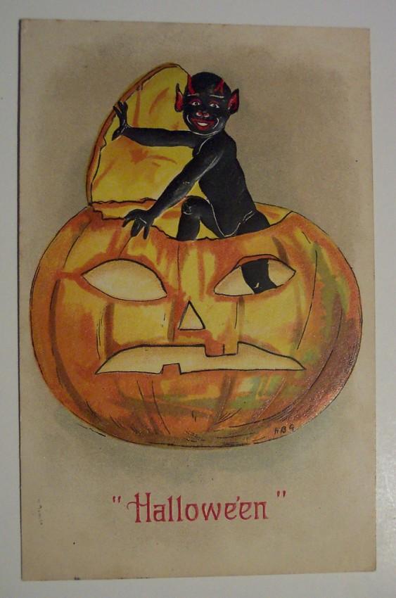 Ilustracion vintage Halloween 130
