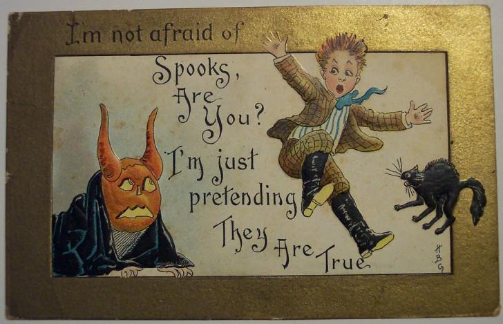 Ilustracion vintage Halloween 131