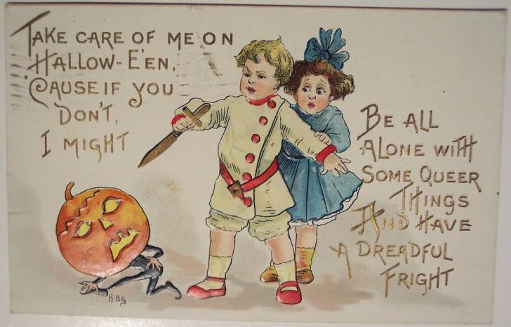 Ilustracion vintage Halloween 133