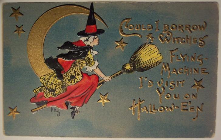 Ilustracion vintage Halloween 135