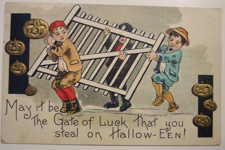 Ilustracion vintage Halloween 136