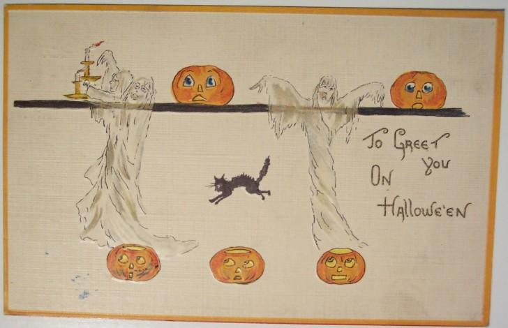 Ilustracion vintage Halloween 138