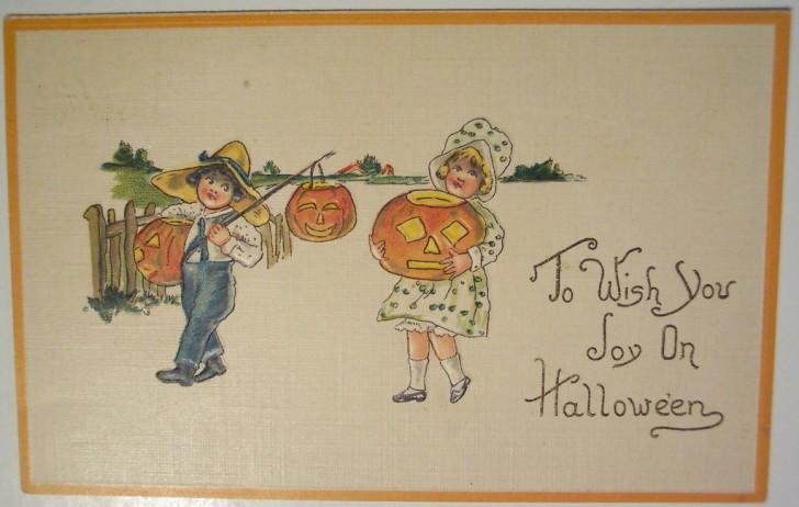Ilustracion vintage Halloween 139