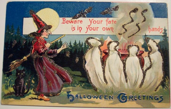 Ilustracion vintage Halloween 140