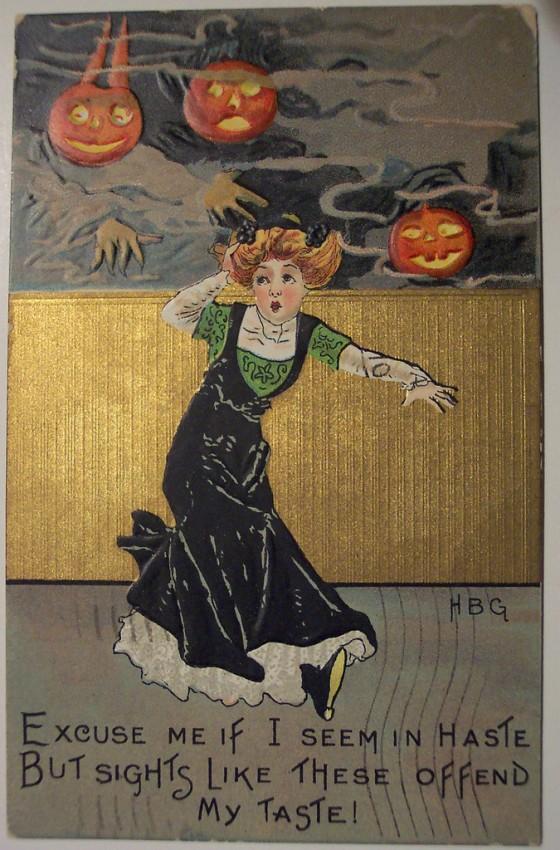 Ilustracion vintage Halloween 141