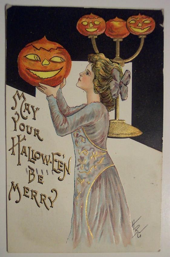 Ilustracion vintage Halloween 142