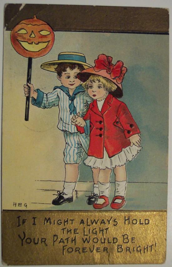 Ilustracion vintage Halloween 143