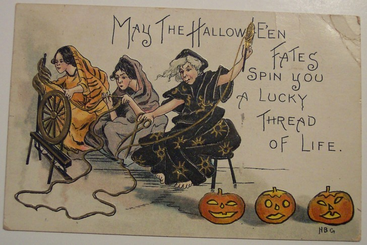 Ilustracion vintage Halloween 146