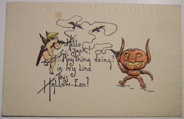 Ilustracion vintage Halloween 148