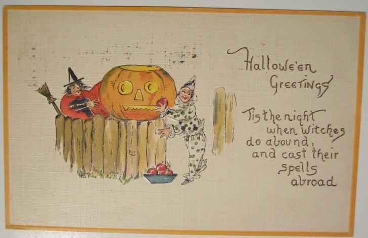 Ilustracion vintage Halloween 149