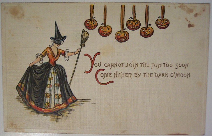 Ilustracion vintage Halloween 150