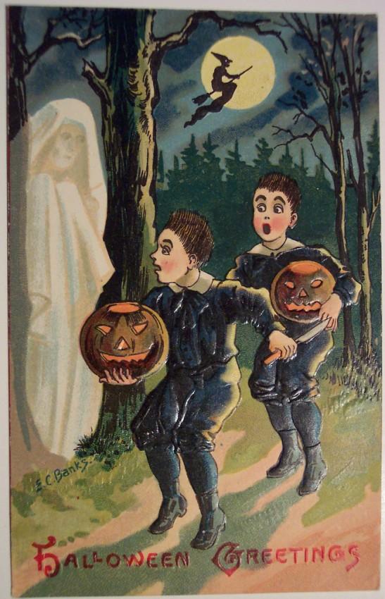 Ilustracion vintage Halloween 151
