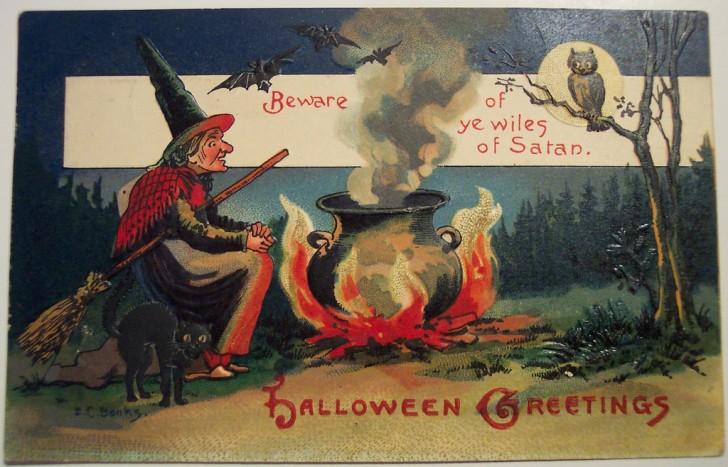 Ilustracion vintage Halloween 152