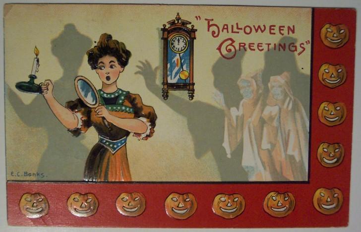 Ilustracion vintage Halloween 154