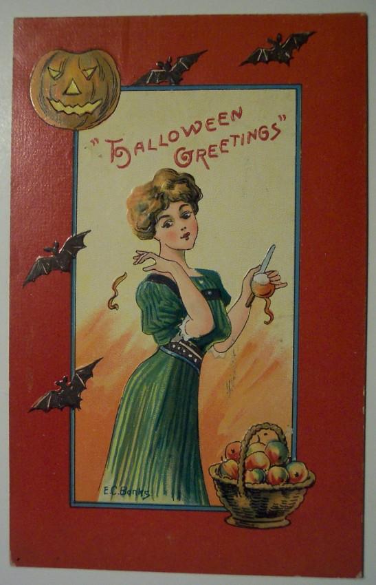Ilustracion vintage Halloween 155