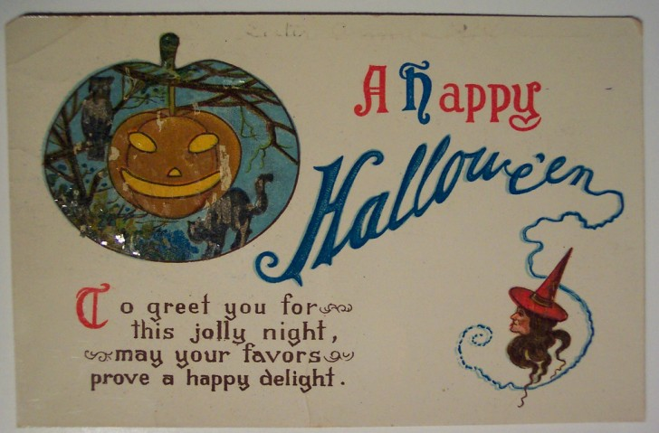 Ilustracion vintage Halloween 157