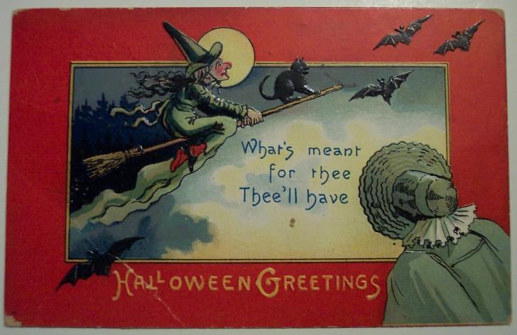 Ilustracion vintage Halloween 158