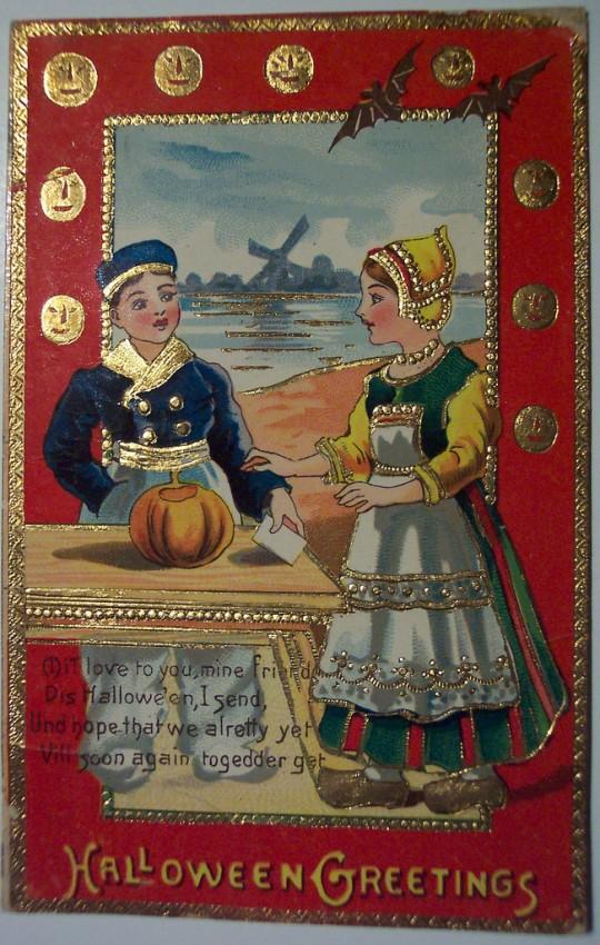 Ilustracion vintage Halloween 159