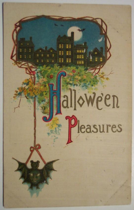 Ilustracion vintage Halloween 160