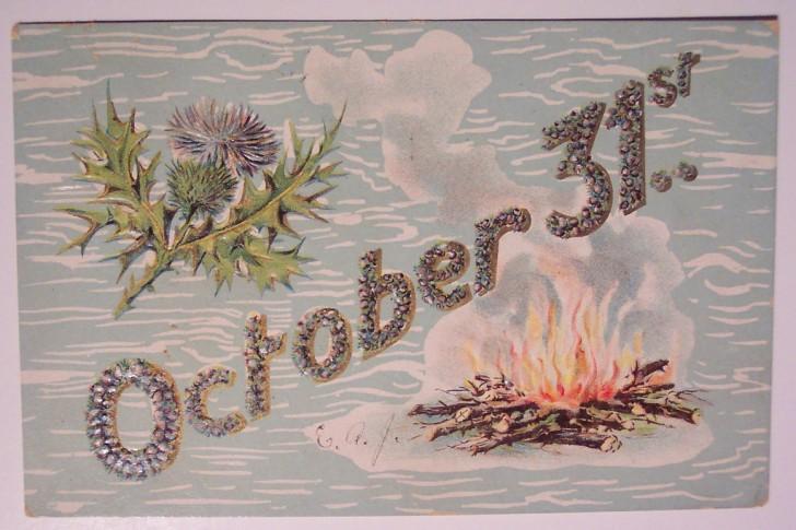 Ilustracion vintage Halloween 161