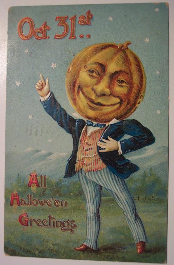 Ilustracion vintage Halloween 164