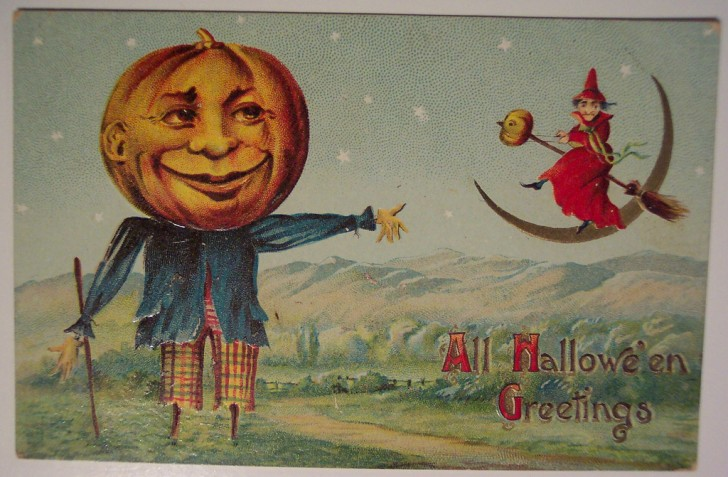 Ilustracion vintage Halloween 166