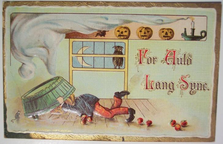 Ilustracion vintage Halloween 167