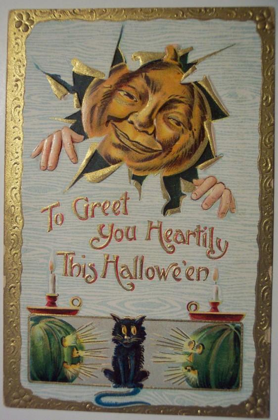 Ilustracion vintage Halloween 169