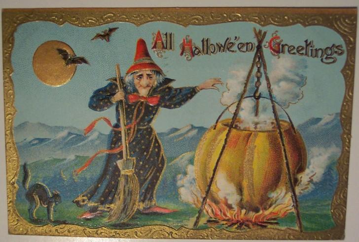 Ilustracion vintage Halloween 170