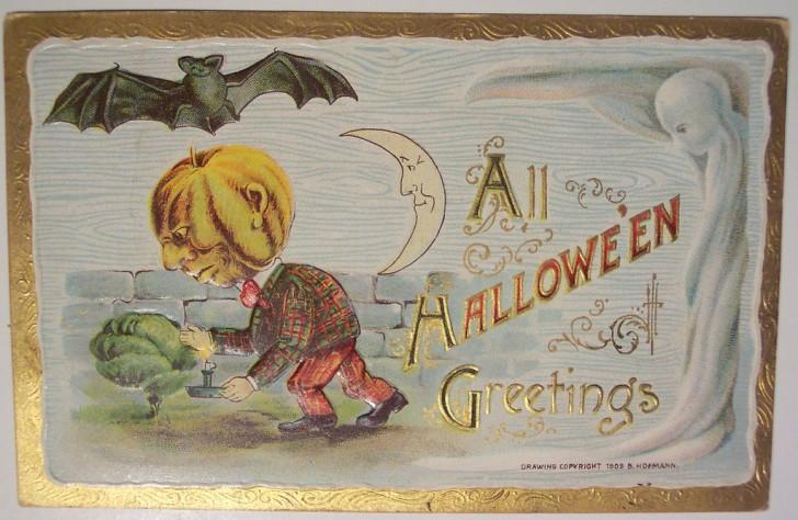 Ilustracion vintage Halloween 171
