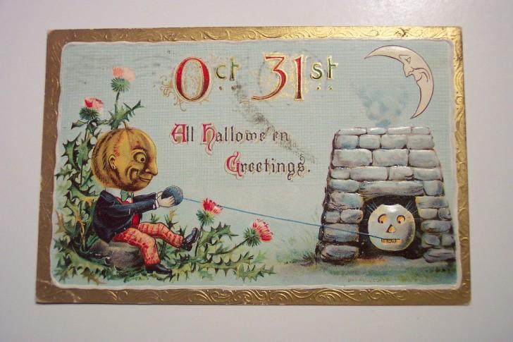 Ilustracion vintage Halloween 172