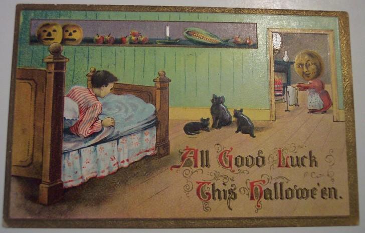 Ilustracion vintage Halloween 174
