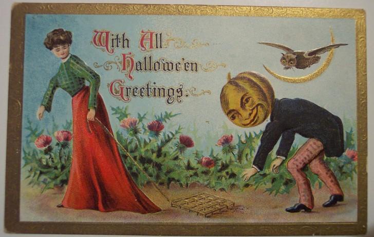 Ilustracion vintage Halloween 175