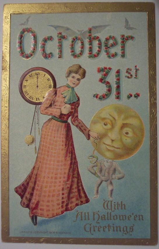 Ilustracion vintage Halloween 176