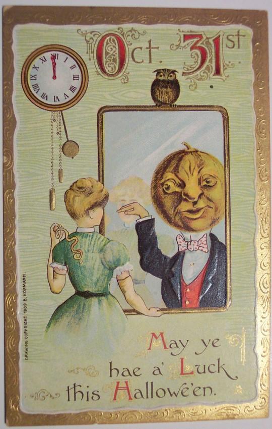 Ilustracion vintage Halloween 177