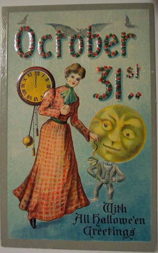 Ilustracion vintage Halloween 178