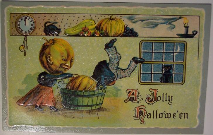 Ilustracion vintage Halloween 179