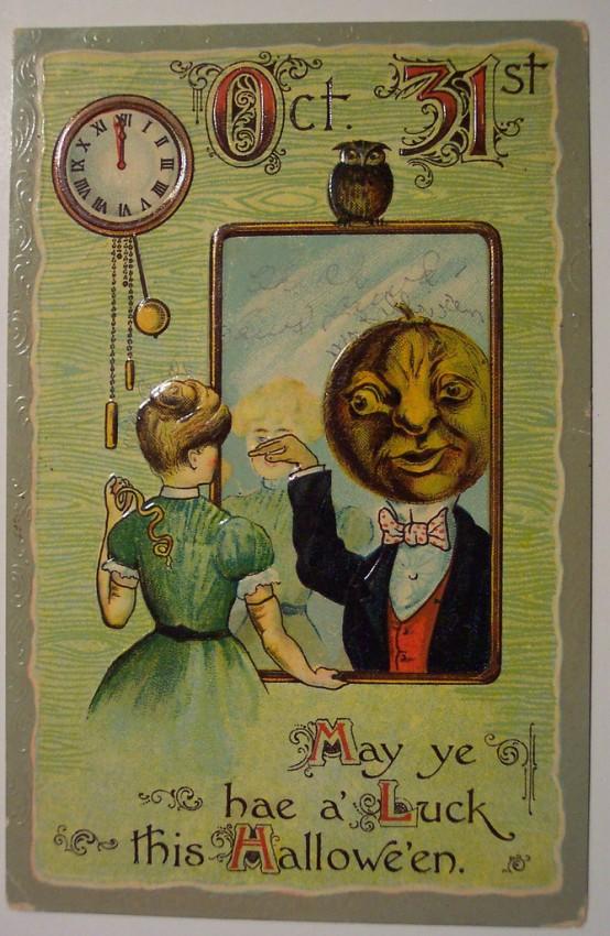 Ilustracion vintage Halloween 180